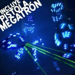 ALQUILER ROBOT LED CON MEGATRÓN