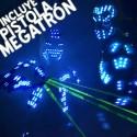 Alquiler de Robot LED con pistola megatrón