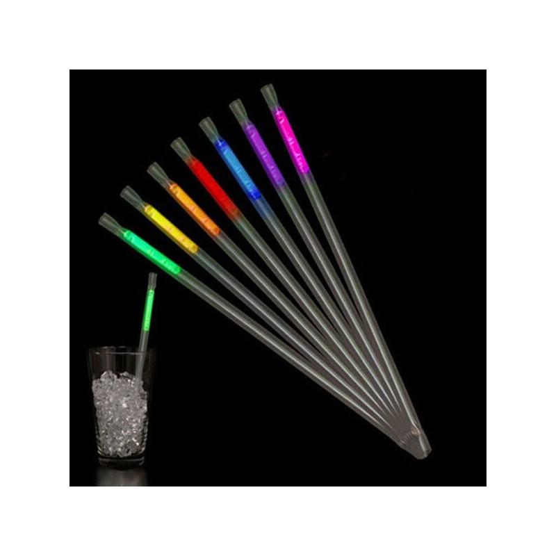Pajitas Luminosas Fluorescentes