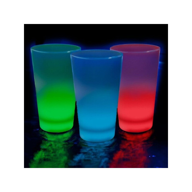 Vaso Chupito Luminoso Fluorescente