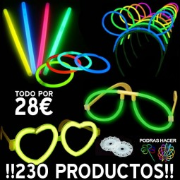 PACK 230 PRODUCTOS LUMINOSOS