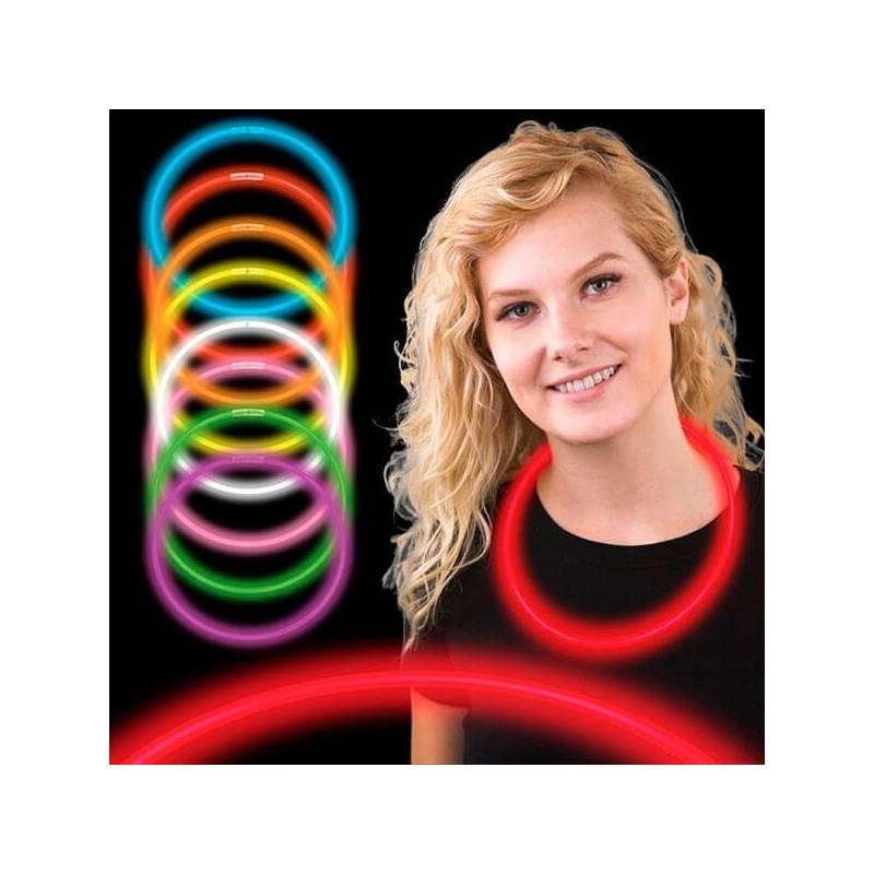 Collares de neon luminosos