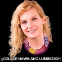 Collar hawaiano Luminoso Fluor