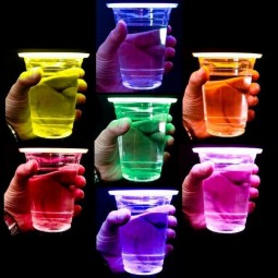 Vasos luminosos fluorescentes