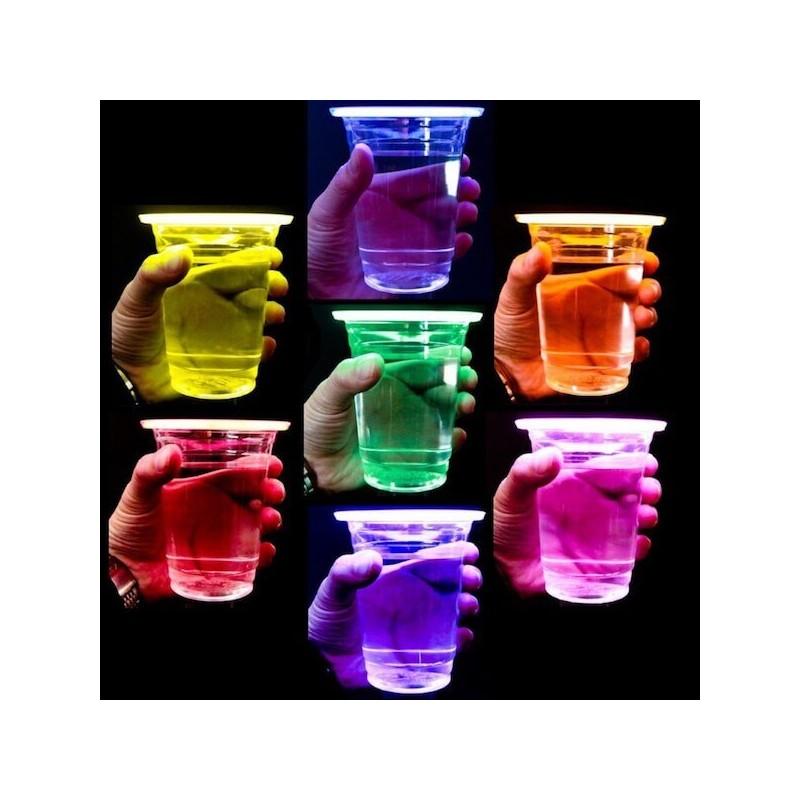 Vasos luminosos fluorescentes