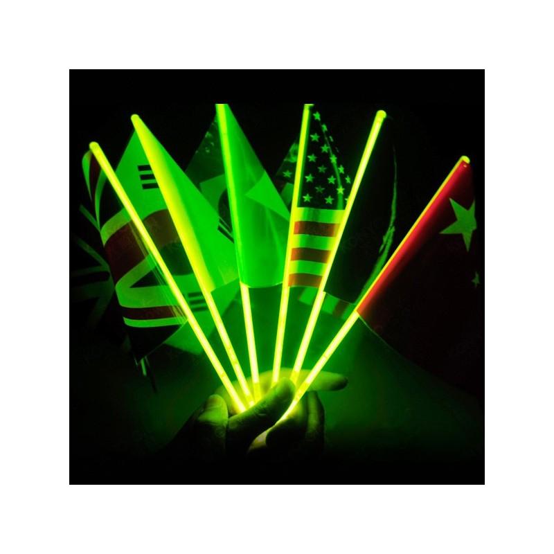 Bandera luminosa fluorescente
