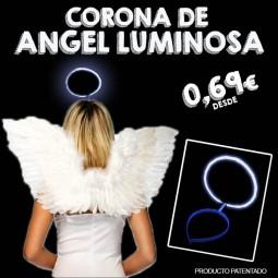 Corona de angel luminosa