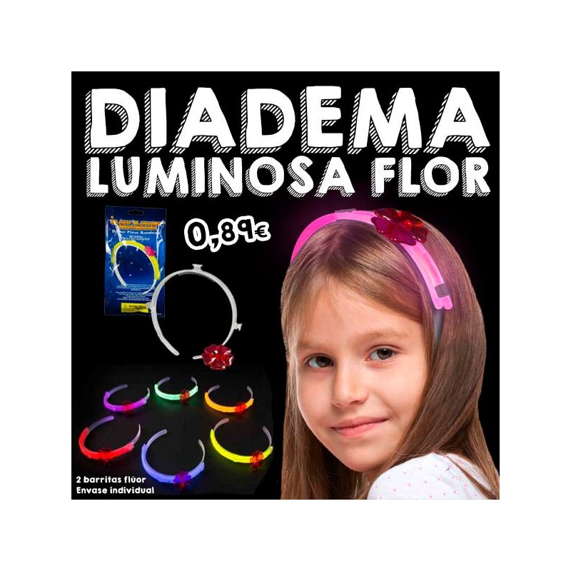 Diadema Luminosa Flor