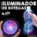 Posavasos iluminador de botellas