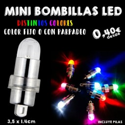 Mini bombillas LED