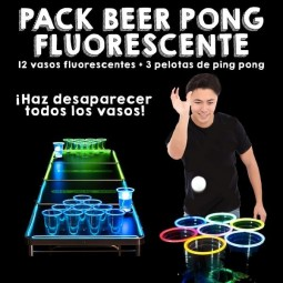 Pack Beer Pong Fluorescente