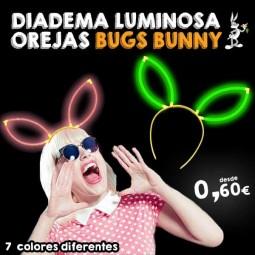 Diademas Luminosas Orejas Bugs Bunny