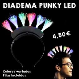 Diadema Punky LED