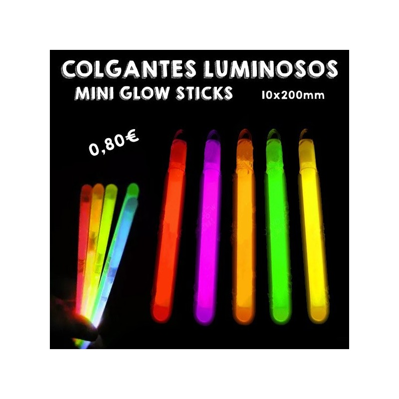 Mini Glow Stick 10x200mm