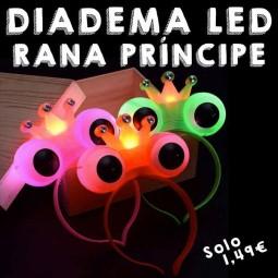 Diadema Rana Príncipe LED