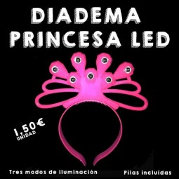 Diadema Princesa LED