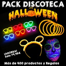 Pack Discoteca Halloween