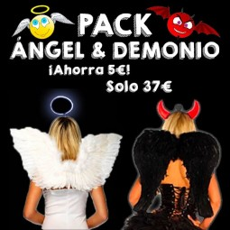 Pack Ángel & Demonio