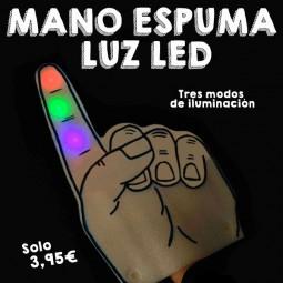 Mano Espuma LED