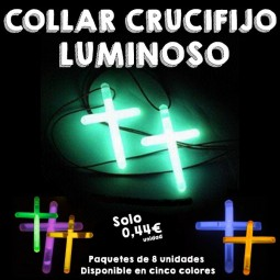 Colgantes Crucifijos Luminosos
