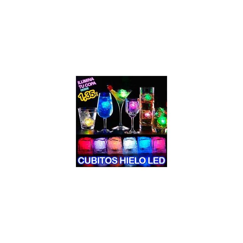 CUBITOS HIELO LED