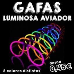 GAFAS LUMINOSAS AVIADOR